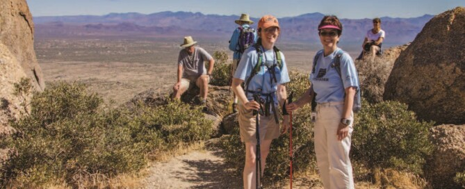 Steward training classes grow the volunteer stewards to approximately 100 and added hike leader training.